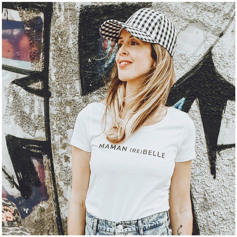 precious_moment__ porte le tee-shirt maman rebelle