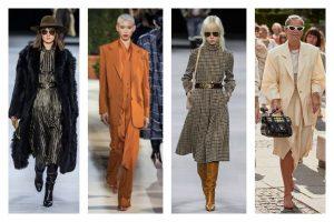 Tendances automne 2019, jupe satinée, blazer oversize