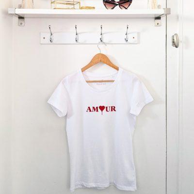 tee-shirt amour pour les amoureux