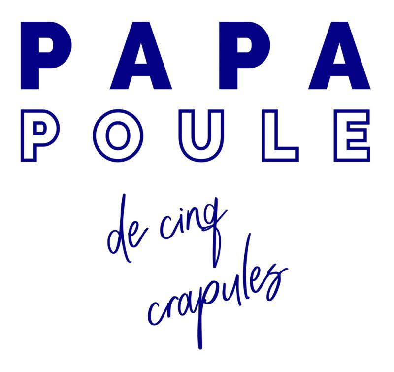 T-shirt Papa Poule 5 crapules