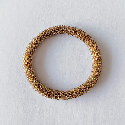 Bracelet népalais or antique - Maia et Zoé