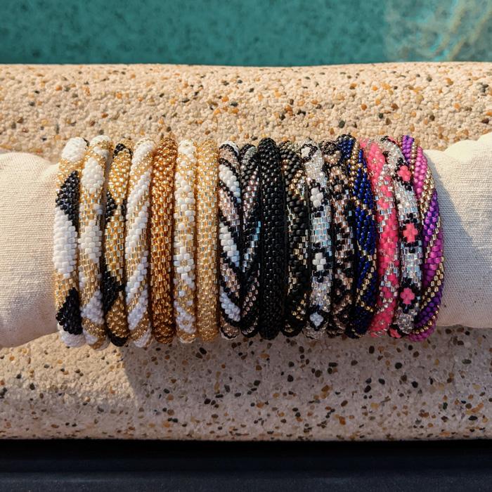 Bracelets népalais Maia et Zoé