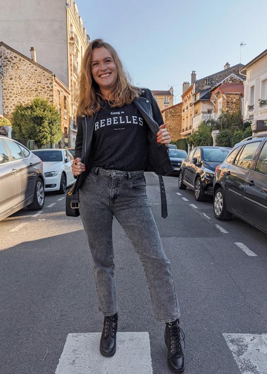 Tee-shirt gang de rebelles Maia et Zoé